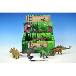 Obrázek Dinosaurus plast 15-18cm - 6 druhov 12ks v DBX