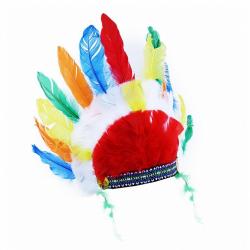 Obrázek čelenka indiánská dospělá
