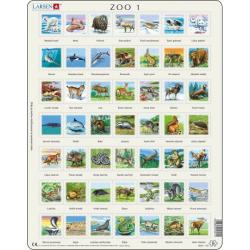 Obrázek Puzzle ZOO 149 dílků