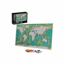 Obrázek LEGO<sup><small>®</small></sup> Art 31203 - Mapa světa