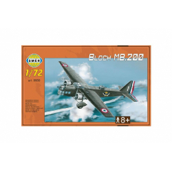 Obrázek Model Bloch MB.200 31,2x22,3cm