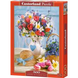 Obrázek Puzzle Castorland 500 dílků - Jaro ve váze