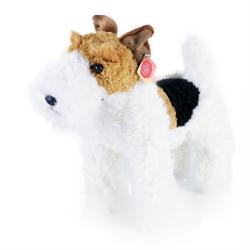 Obrázek plyšový pes foxterier Dášenka stojící, 30 cm