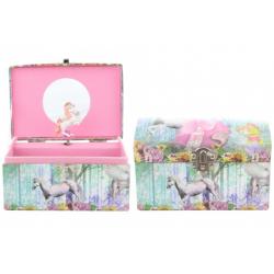 Obrázek Hrací skříňka šperkovnice s koníkem