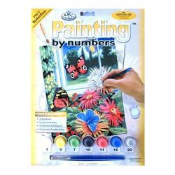 Obrázek Malování podle čísel- Motýli