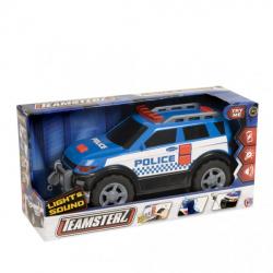 Obrázek Teamsterz policejní auto 4x4 se zvukem a světlem