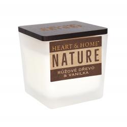 Obrázek ALBI Malá svíčka - Růžové dřevo a vanilka
