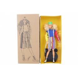 Obrázek Barbie BMR1959 Barbie v ponožkových teniskách módní deluxe GHT92