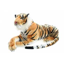 Obrázek Plyš Tygr hnědý 70 cm