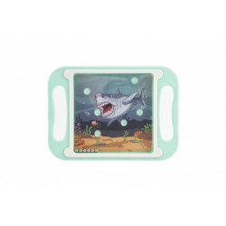 Obrázek Hlavolam s kuličkami plast 20x14cm 4 barvy 8ks v boxu
