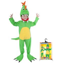 Obrázek karnevalový kostým dinosaurus, vel. S