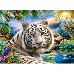 Obrázek Puzzle 180 dílků - Bílý tygr za soumraku