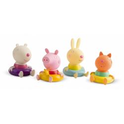 Obrázek Peppa Pig figurky do koupele 4 ks