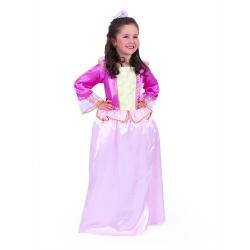 Obrázek Dětský kostým Princezna růžový kvítek (M)