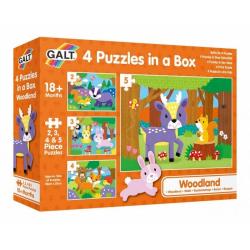 Obrázek 4 Puzzle v krabici - V lese