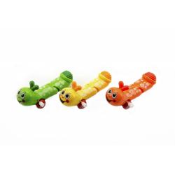 Obrázek Červík na klíček plast 12cm - mix barev