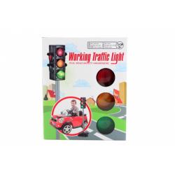 Obrázek Svetelný semafor batérie