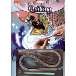 Obrázek Quilling - labuť
