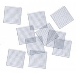 Obrázek Destička pro zažehlovaní - čtverec, 10 ks, 8 x 8 cm