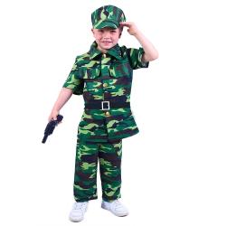 Obrázek Dětský kostým voják (S)