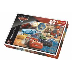 Obrázek Puzzle Cars 3 koláž 260 dílků 60x40cm