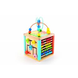 Obrázek Kostka edukační dřevěná Wooden Toys