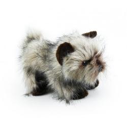 Obrázek plyšový pes kernteriér sedící, 28 cm
