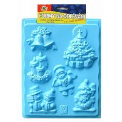 Obrázek Formy na odlévání- Vánoce