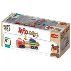 Obrázek Auto nákladní safari dřevěné 26,5cm Wooden Toys