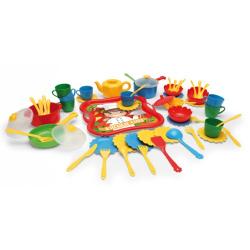 Obrázek Kuchyňský set nádobí 59ks plast