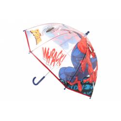 Obrázek Deštník Spider-man průhledný manuální