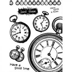Obrázek Gélová pečiatky - Have a good time - hodiny