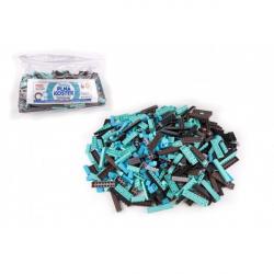 Obrázek Stavebnice Cheva Taška Plná Kostek plast Technická sada 2 kg v plastové tašce