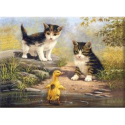 Obrázek Malování podle čísel- Přátelé u vody