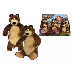 Obrázek Máša a medveď Plyšový medveď 25 cm 2 druhy DP6 - 2 druhy
