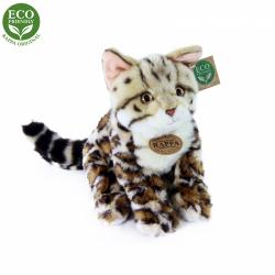 Obrázek Plyšová kočka bengálská sedící 23 cm ECO-FRIENDLY