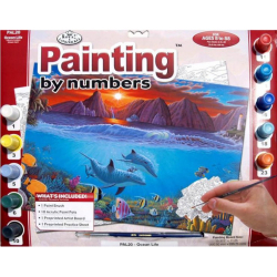 Obrázek Malování podle čísel- Podmořský svět