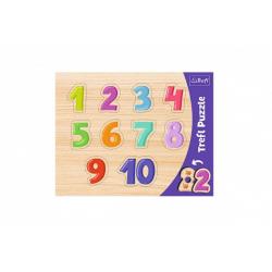 Obrázek Vkládačka/Puzzle obrysové čísla 37x29 v sáčku