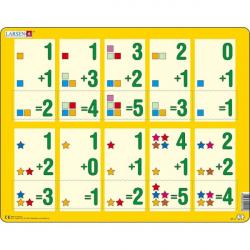Obrázek Puzzle Malé sčítání 1-510 dílků