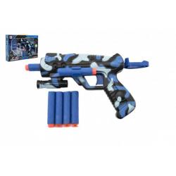 Obrázek Pistole na pěnové náboje plast 16cm v krabici 29x20x4cm