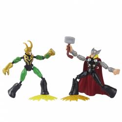 Obrázek Avengers Bend and Flex Thor vs Loki