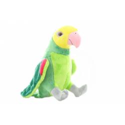 Obrázek Plyš Papoušek zelený