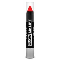 Obrázek Tužka na obličej UV neon 3,5 g červená (red)