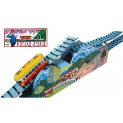 Obrázek Horská dráha na klíček kov 120cm