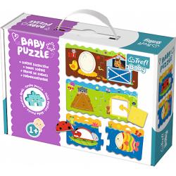 Obrázek Puzzle puzzles Baby Classic - Tvary
