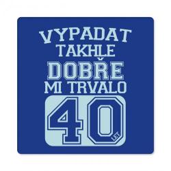 Obrázek Pánské humorné tričko - 40 let, vel. L