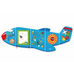 Obrázek Dřevěná nástěnná hra - letadlo