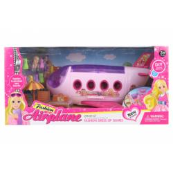 Obrázek Letadlo pro panenky s doplňky