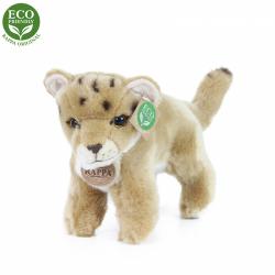 Obrázek Plyšová lvice mládě stojící s tvarovatelnými končetinami 22 cm ECO-FRIENDLY