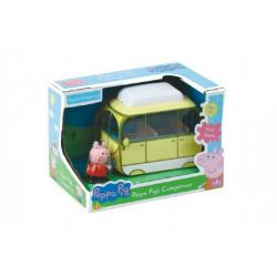 Obrázek Prasiatko Peppa karavan kempingový automobil v krabici 20x14x13cm